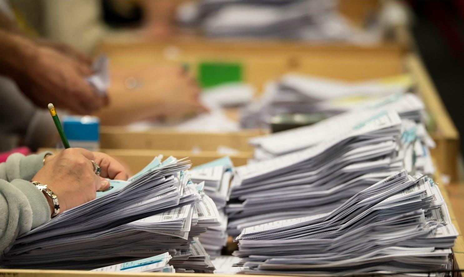 dépouillement bulletins vote