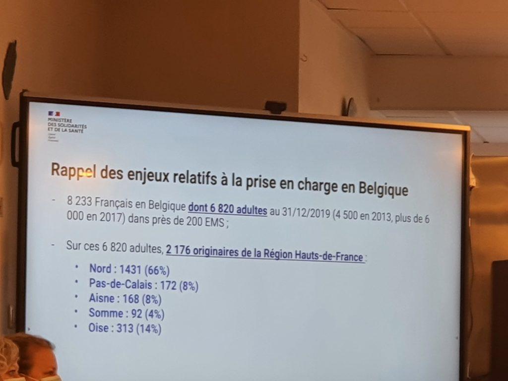 chiffres français de belgique